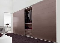 Sliding Door Wooden Wardrobe
