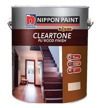 Nippon Cleartone Exterior Pu Wood Finish