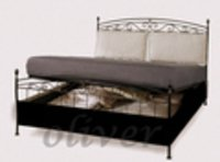 Durable Wrought Iron Sofa Cum Bed