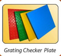 Frp Chequered Plate Gratings