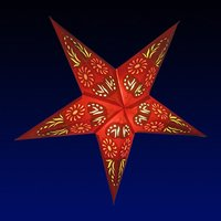 Durable Decorative Paper Star Lanterns