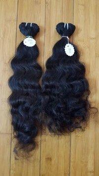 Natural Wavy Remi / Virgin Temple Hair