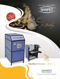 Induction Based Aluminium Melting Furnace (5 Kg. With Tilting Unit)