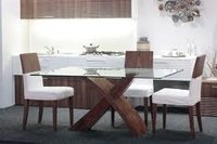 Designer White Table and Chair