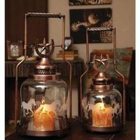 Antique Metal Lanterns