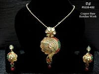 Diamond Sea Antique Pendant Set