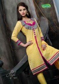 Ladies Designer Embroidery Suits