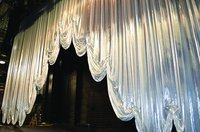 Auditorium/Stage Curtain Frills
