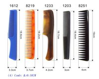 Plastic Hair Combs