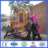Amusement Park Human Gyroscope