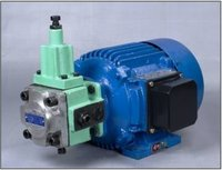 Electric Motor and Variable Vane Pump Combination