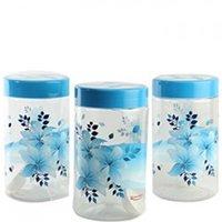 Pet Jar With Flower Design