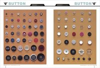 Resin Button With Eyelet