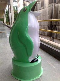Penguin Shape FRP Dustbins
