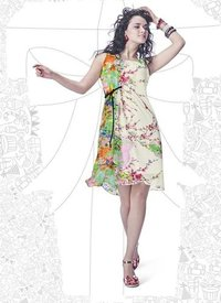 Designer Ladies One Piece Dress