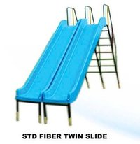 Frp Playground Double Slides