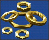 Nickel Plated Brass Hexagonal Lock Nuts