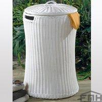Outdoor Wicker Laundry Basket