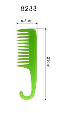 Plastic Comb W Hook Shape Handle
