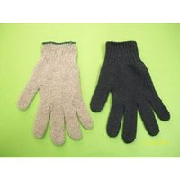 Cotton Knitted Coloured Gloves
