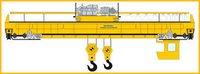 Double Girded Heavy Duty Cabin Operated EOT Cranes