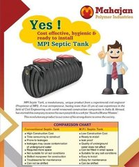 Cost Effective Septic Tank