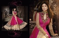 Pure Silk Weaved Embroidery Suit