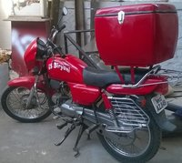 Motorcycle Mounted Food Delivery Boxes