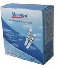 Mission Hb Strips Pack Of 50 Strips