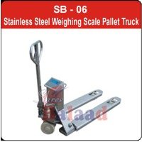 Stainless Steel Weighing Scale Pallet Truck
