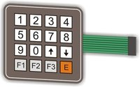 Standard Matrix Membrane Keypad