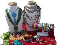Artificial Necklace Set With Bangles