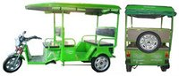 Regular Battery Operated Electric Rickshaw