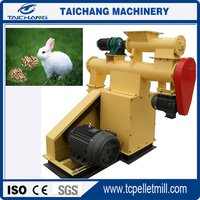 Machine for making chicken feed