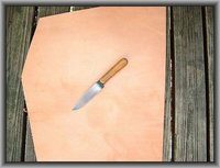 Leather Edges Knife