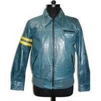 Colored Mens Leather Jackets