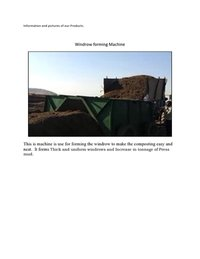 Windrow Forming Machine