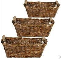 Wicker Storage Basket Hamper