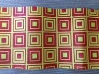 Attractive Check Box Patterns Non Woven Fabric