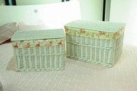 Aquare Wicker Storage Basket
