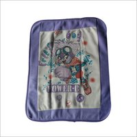Baby Wrapping Towel Printed Purple Base