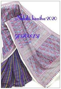 Ladies Nakshi Kantha Saree