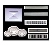 Aluminium Extruded Grills And Diffusers