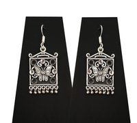 Antique Square Earrings