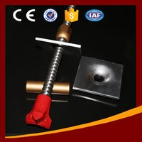 Tunneling Support Hollow Grout Self-Drilling Anchor Rock Bolt
