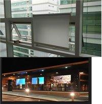 Dual Sided Screen Display