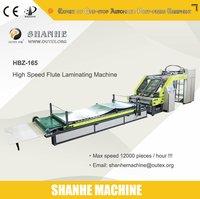 High Speed Flute Laminating Machine