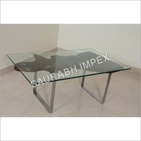 Square Root Glass Table