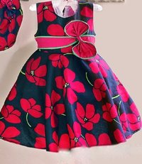 Cotton Frock For Kids