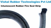 Intumescent Rubber Smoke Seal For Fire Door
